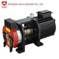 Elevator belt gearless traction machine 320/400/450/630/800/1000/1250/1600/2000kg