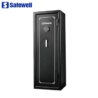 Safewell FS14C/E 14 Guns Electronic Capacity Safety Gun Weapon Cabinet Safe Box