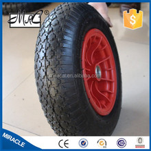 4.00-8 Wheelbarrow Tyre factory in China / Tyre And Wheel
