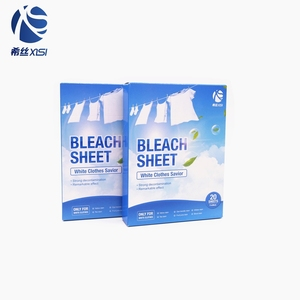 Excellent quality and reasonable price strong decontamination bleach sheets  for laundry