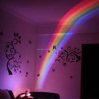 LED Rainbow Projector Lamp Night Light