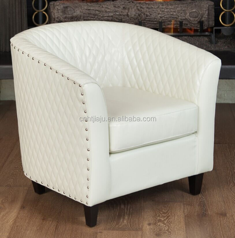 Wit Leren Draaifauteuil.White Leather Armchair Used For Living Room Sofa Buy Armchair