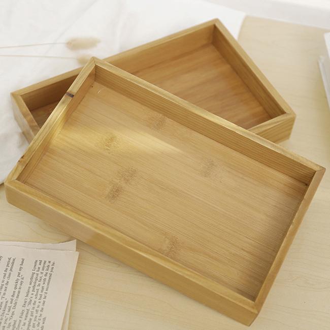 Personalizar o Design De Madeira de Jantar Pratos Prato de Frutas Retângulo Bandeja de Chá Saudável