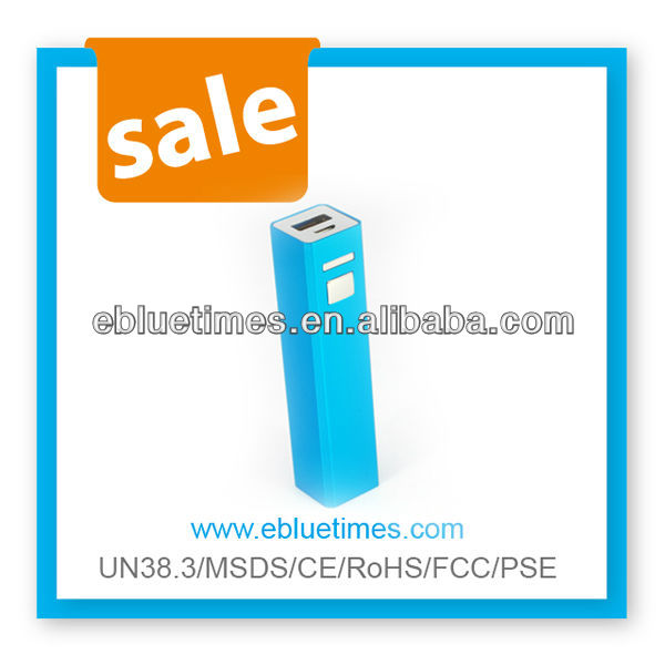 Hot Sale 2200mAh power bank for IPhone, HTC, Nokia, PSP, DV, MP3