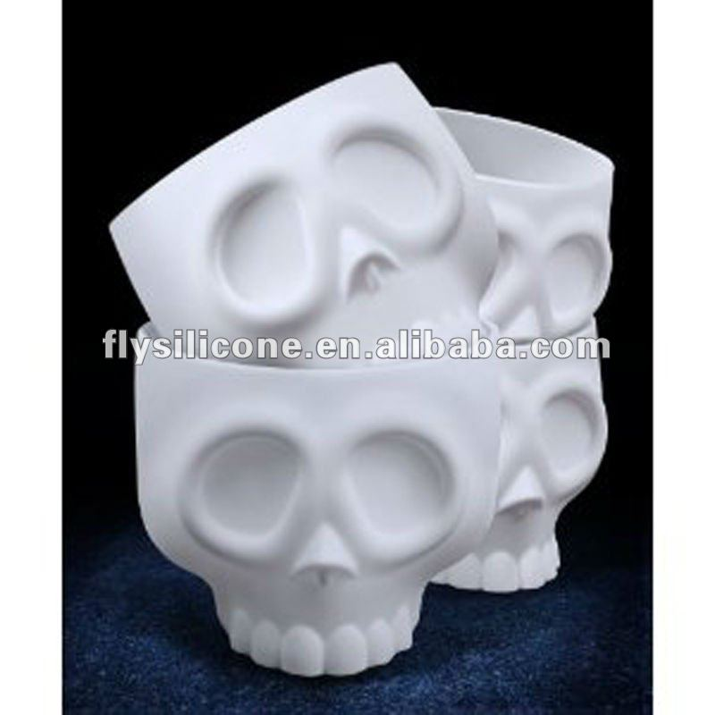 Perfect for Halloween Cake Accessory For Parties Appealing Skull Design