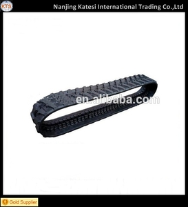 High quantity china manufacturer rubber track system / snowmobile rubber track/small rubber track for eacavator