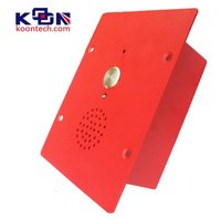 Intercom system security paging system IP phone KNZD-11 Koontech iron bed