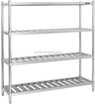Commercial Kitchen Storage Stainless Steel Shelf/ Stainless Steel Rack -  Buy Stainless Steel Shelf,Stainless Steel Rack,Kitchen Shelf Rack Product  on ...
