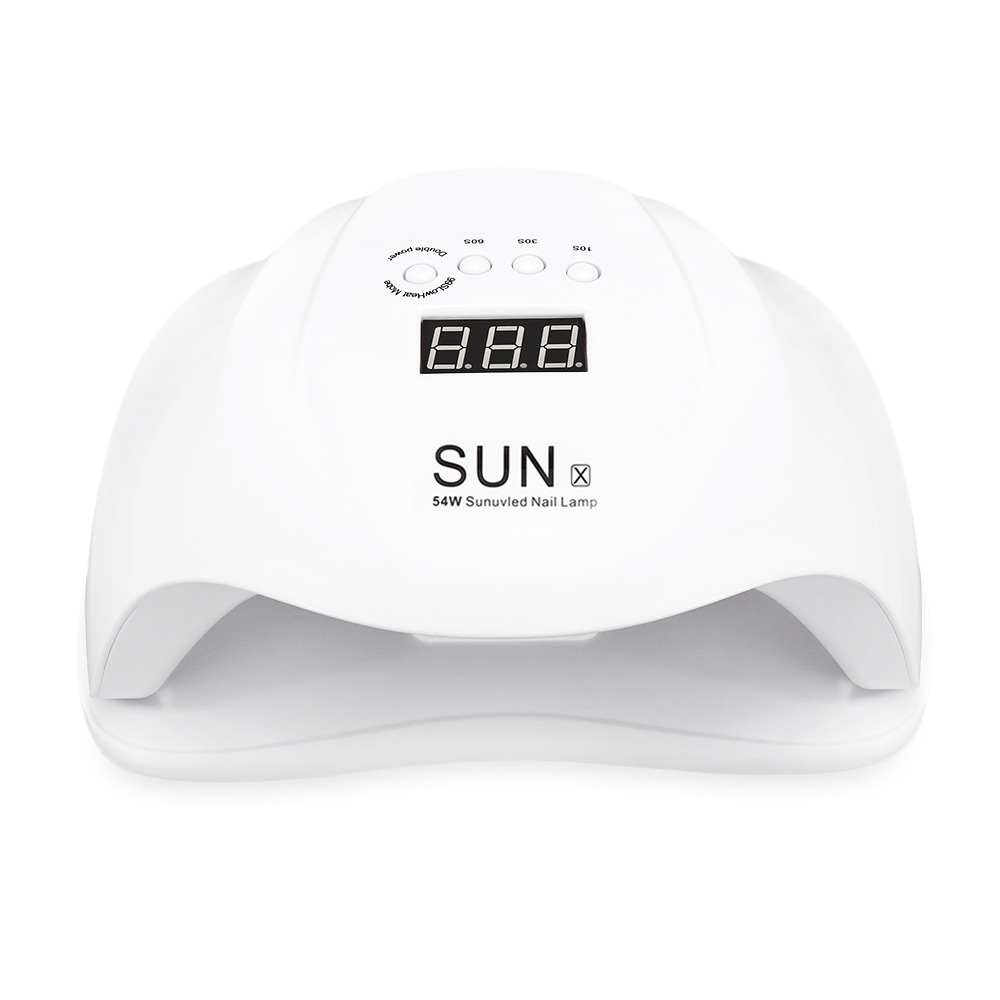 SunX 54w Powerful UV LED Nail Dryer Uv Led Fast Curing Nail Lamp for Gel Nails фото