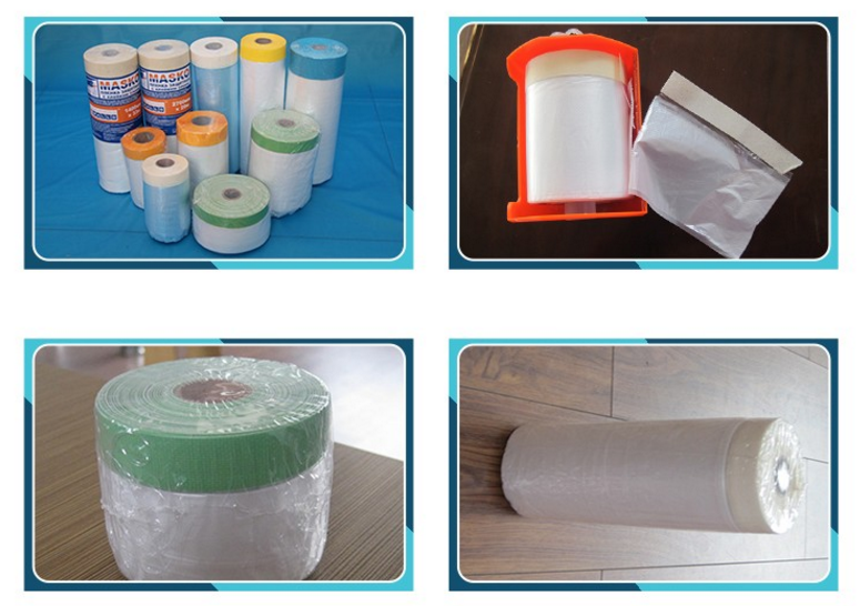 waterproof pe flexible plastic sheet drop cloth other type products