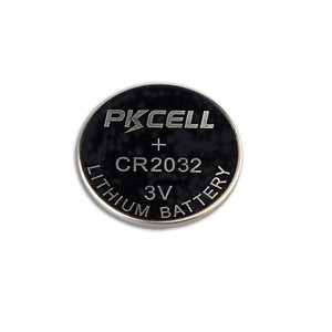 Hot Sale PKCELL Watches Lithium Button Cell 3v cr2032 Coin Battery