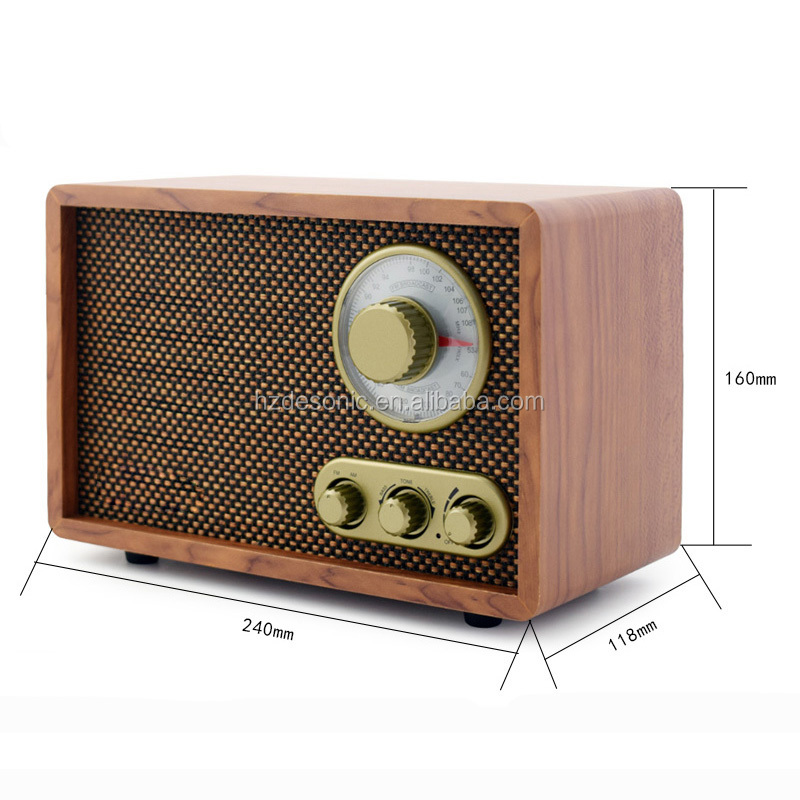 2018 Popular old antique radios for sale