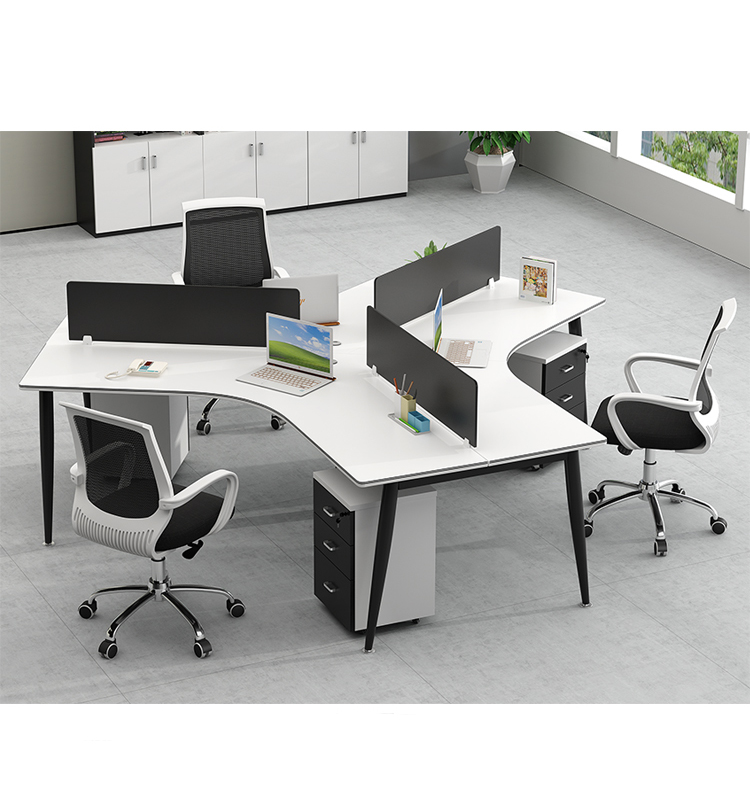 Modern Office Furniture Call Center Round Office Workstation 6 Person Used Office Desks And Workstations Buy Staples Office Furniture Desks Dual