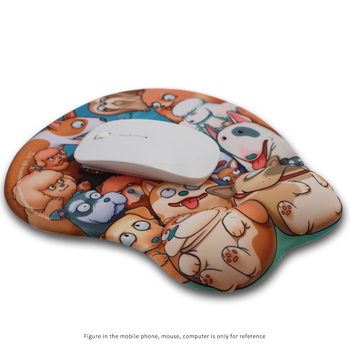 Sexy 3d mouse pad