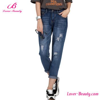 2f06c9bee4158 New Design Three Quarter Jeggings Women Denim Jeans For Pants ...