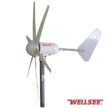 Factory cheap wind generator WS-WT300W 12V 24V 1.5m/s wind speed roof mounted magnetic wind power generator