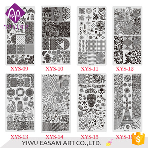 XYS STZ brand fashion 20 designs nail art image stamping plate