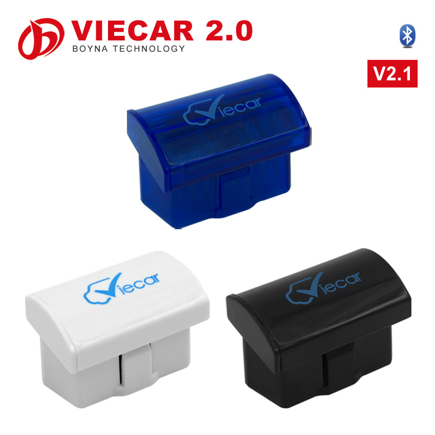 2016 High Quality viecar 2.0 OBD2 auto diagnositc scanner tool bluetooth Support Android/Windows