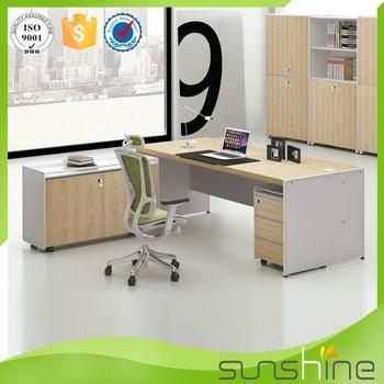 modern wooden office counter desk buy wooden. Sunshine Furniture Wood Modern Office Counter Table Design Prices Wooden Desk Buy L