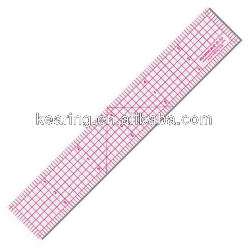 Kearing Brand Inch Fashion Design Rulers Pattern Grading Ruler 1 6 Length Transparent Inch Scale For Sewing Design B 50 Buy Pattern Grading Ruler Scale Ruler Flexible Sewing Ruler Product On Alibaba Com