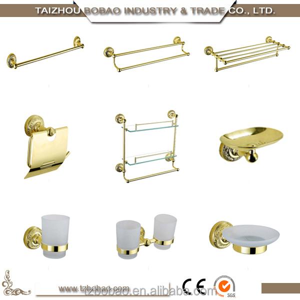 Fashion classic sanitary ware bronze bathroom accessories for Bronze and gold bathroom accessories