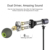 2018 New product Dual Driver Bluetooth Earphone