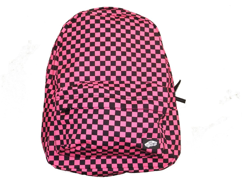 cb0db88660 Get Quotations · Vans Old Skool Hot Pink Checker Backpack
