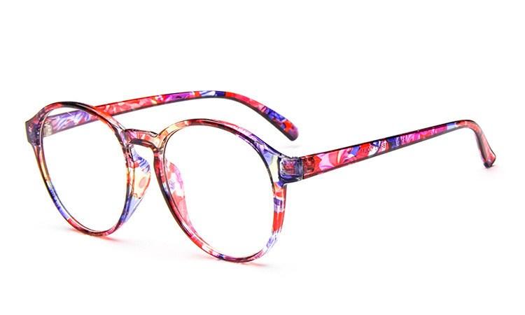 d133d24e6d09 2018 Round Eyewear Frames eye glasses frames for Women Eyeglasses Women  Ladies Eyeglass Computer Mirror Plain
