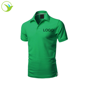 Cheap Price Bulk Custom Work Uniform Tailored Yellow Dark Green White Red Brown T Shirt With Polo Collar