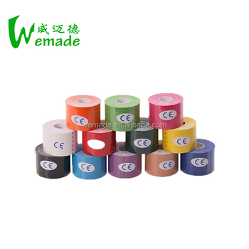 Waterproof Cotton Elastic Physio Kinesiology Tape Used for Therapeutic Yoga Kinesiology Tape with FDA/TUV/ISO Made In China