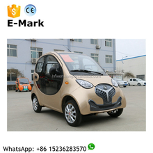 Cheap electric mobility scooter car for old people, 4-wheel 4 seater electric cars with max. speed 40km/h on sale