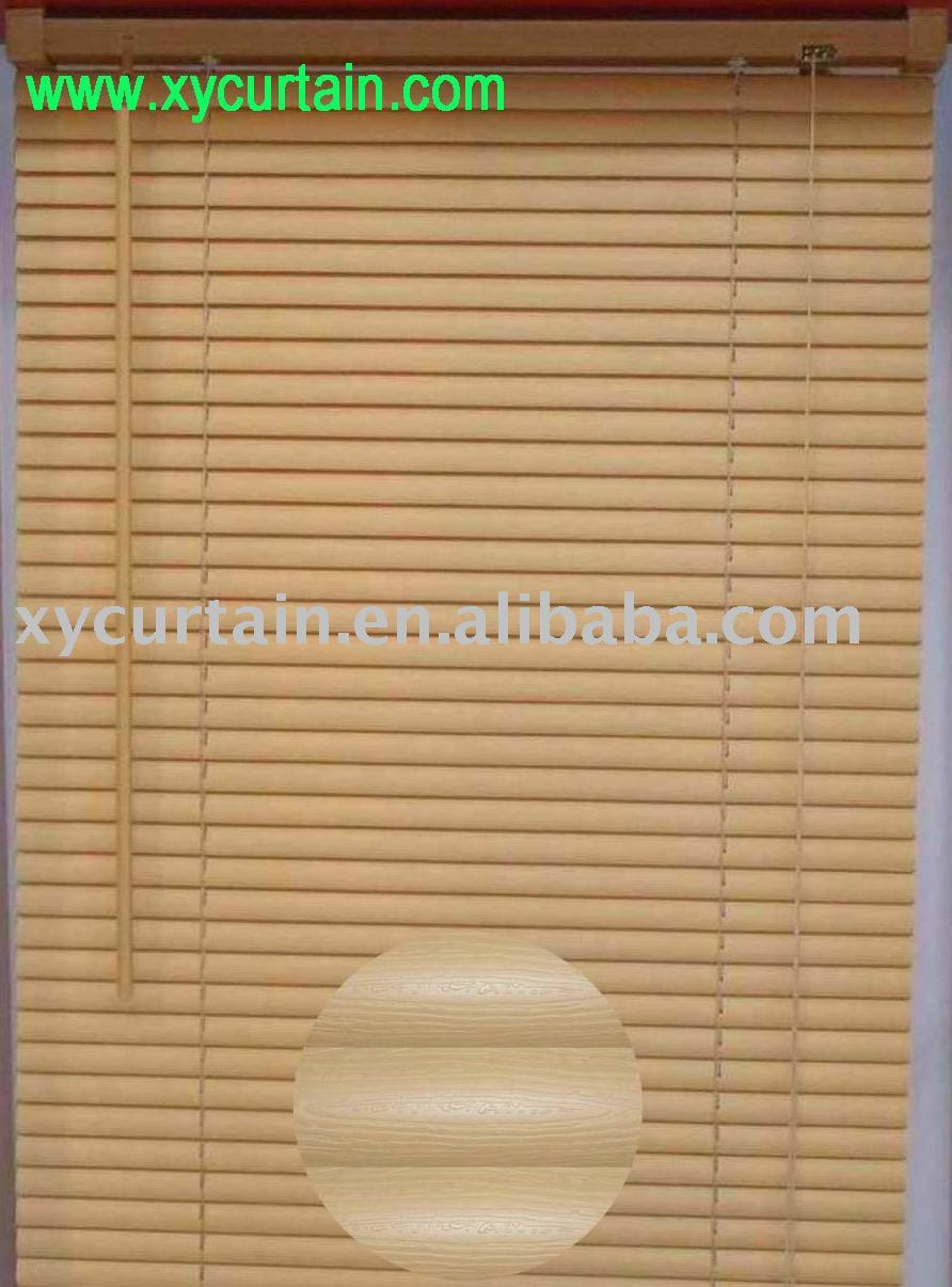 Pvc de la persiana veneciana 25mm press raya persianas - Persiana veneciana pvc ...