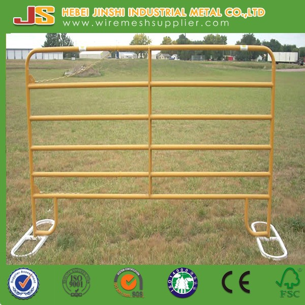 Livestock metal fence panels/cattle panels for sale/livestock cattle