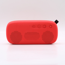 Fashion Outdoor Portable Wireless Blue Tooth Speaker Mendukung FM TF Kartu U <span class=keywords><strong>Disk</strong></span> Bermain