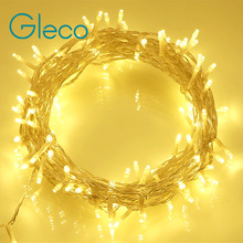 Holiday Outdoor 10M 100 LED String Lights AC110 / 220V Christmas Xmas Wedding Party Decorations Garland Lighting