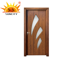 made in china good quality interior PVC door windows for wholesale price