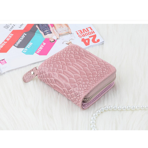 Customized Factory Popular Style cow leather mighty wallet with coin slot