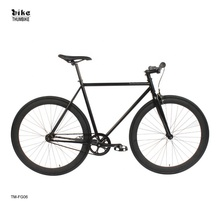 Single Speed <span class=keywords><strong>Fahrrad</strong></span> Fixie Hallo-Zehn stahl Schwarz 700c Fixed Gear Bike