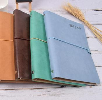 Wholesale leather cover journal notebook for Handmade Genuine