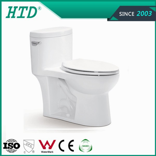 HTD-MY-2150 Ceramic one piece siphonic water closet