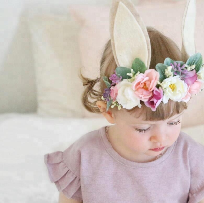 Holiday By Sea Kids Flower Headband , Flower Kids Hair Accessories