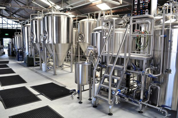 1500L commercial nano stainless steel beer brewery system for sale