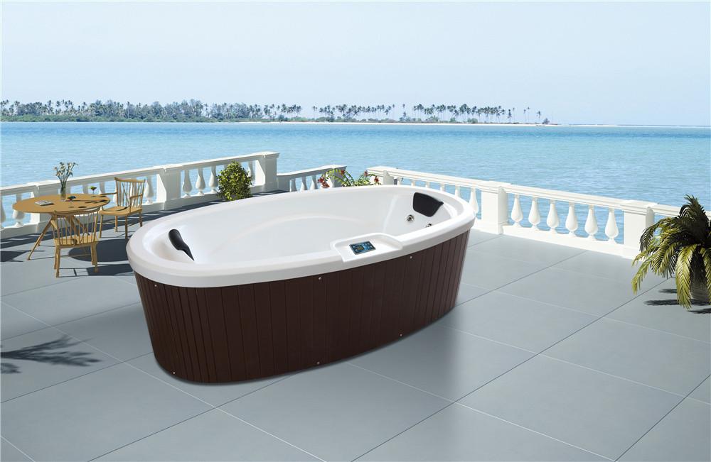 Sexy Whirlpool Massage Portable Spa Tub Balboa Heater Freestanding Hot Bath  M 3360