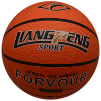 sports equipments promotional rubber basketball