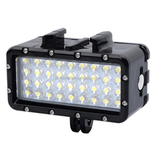 OEM 2018 nuovo arrivo 36LED 500 Lumen 45 tester impermeabile di immersione subacquea luce per Gopros heros 6/5/5 S/4/4 S/3 +/3 telecamere GP356