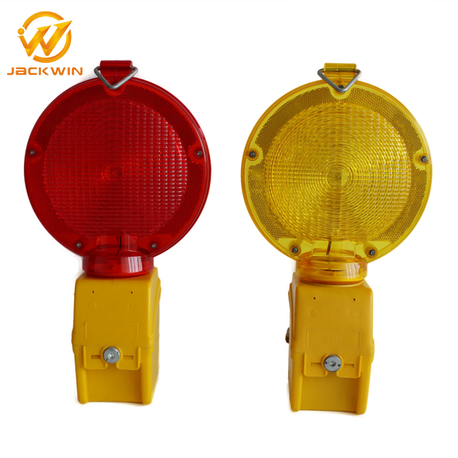 2016 New Product Flashing Solar Road Warning Amber LED Strobe Lights