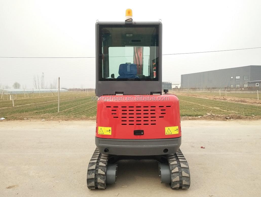 Amplamente Utilizado em Máquinas de Construção De Mini LX30-9 3ton Escavadeira para Venda