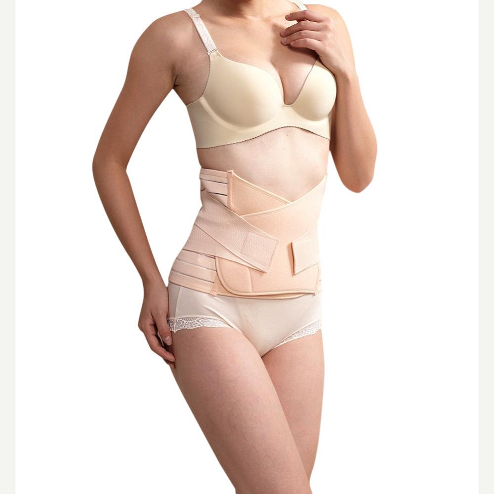 d49d5fabaaad3 Get Quotations · Postpartum Underwear Women Slimming Body Shaper Fajas  Modeladoras Waiste Trainer Girdles Fitness Belt Waist Cincher Hot