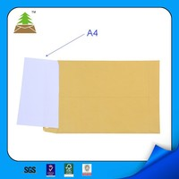 Brown kraft wrapping paper envelope in cheap price
