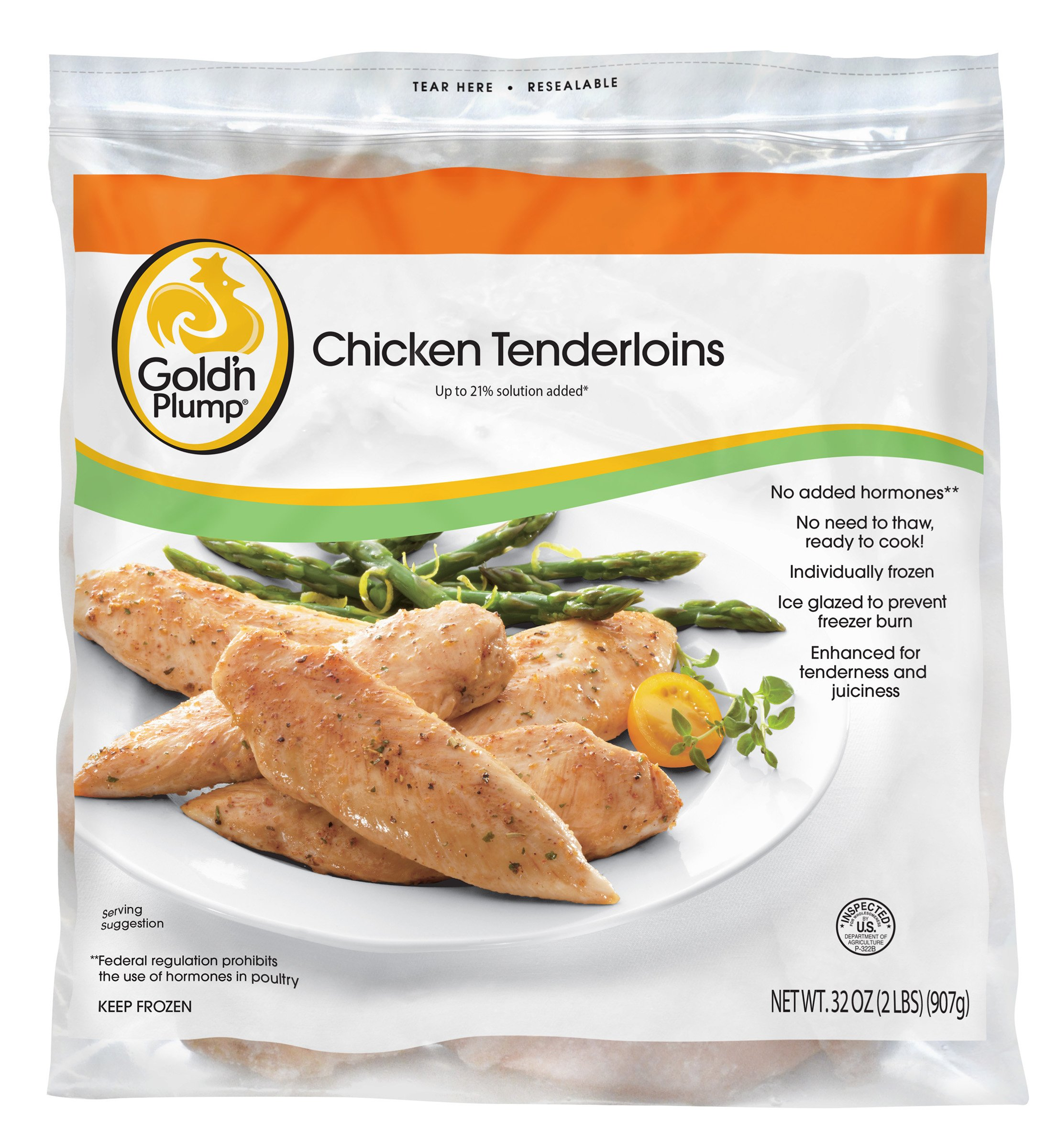 Gold'n Plump, Chicken Breast Tenders, 32 oz (Frozen)